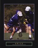 Drive - Lacrosse Fine-Art Print