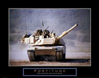 Fortitude - Tank On The Move Fine-Art Print