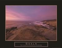 Goals - Sunset Fine-Art Print