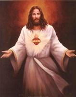 Jesus' Sacred Heart Fine-Art Print