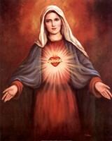 Mary's Immaculate Heart Fine-Art Print