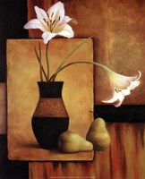 Lilly And Pears Fine-Art Print
