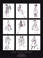 Fashion Through The Decades Fine-Art Print