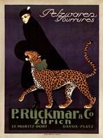 P Ruckmar C, 1910 Wall Poster