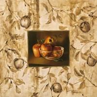 Manzanas En La Mesa Fine-Art Print