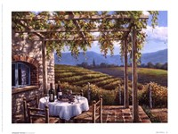 Vineyard Terrace Fine-Art Print