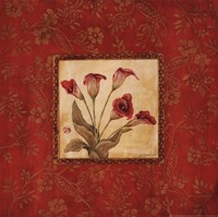 Callas In Red Fine-Art Print