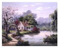 Arbor Cottage Fine-Art Print