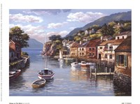 Village On The Water Fine-Art Print