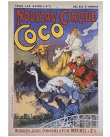 Nouveau Cirque Coco Fine-Art Print