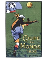 Coupe Du Monde 1938 Fine-Art Print