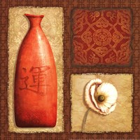 Oriental Collage I Fine-Art Print
