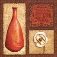 Oriental Collage II Fine-Art Print