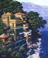 Cove At Portofino Fine-Art Print