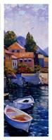Lake Como Crossing Panel II Framed Print