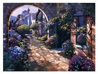 Villa Cipriani Archway Fine-Art Print