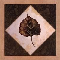 Diamond Leaves III Fine-Art Print