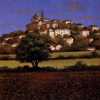 Hillside Down Fine-Art Print