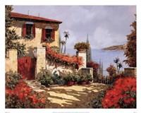 Il Gardino Rosso Fine-Art Print