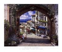 Arch De Cagnes Fine-Art Print