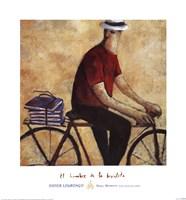 El Hombre De La Bicicleta Fine-Art Print