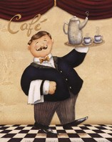 Waiter - Cafe Fine-Art Print
