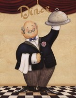 Waiter - Diner Fine-Art Print