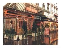 Bistro De La Gare Fine-Art Print