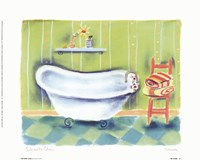Tub With Chair Fine-Art Print