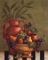 Fresco Fruit I - Mini Fine-Art Print