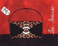 Leopard Handbag II Fine-Art Print