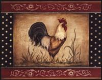 Cock-A-Doodle-Doo - Mini Fine-Art Print