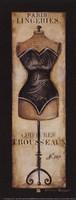 Paris Lingeries No 287 - Petite Fine-Art Print