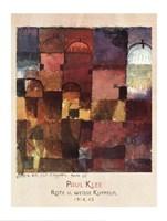 Rote U Weisse Kuppeln, 1914 Fine-Art Print