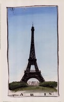 World Landmark Paris Fine-Art Print