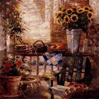 Trina's Potting Bench Fine-Art Print
