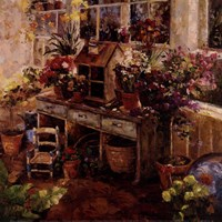Michelle's Potting Bench Fine-Art Print