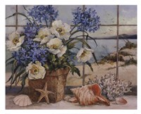 Seaside Cottage Fine-Art Print