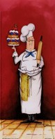 Chef With Pastry Fine-Art Print