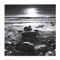 Sun Surf Rocks Fine-Art Print