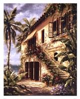 Tropical Villa II Fine-Art Print