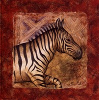 Zebra Safari Fine-Art Print