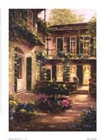 Spring Courtyard II Fine-Art Print