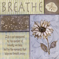 Breathe Framed Print