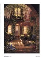 Spring Courtyard I Fine-Art Print