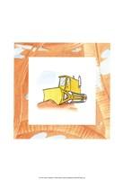 Charlie's Bulldozer Fine-Art Print