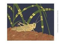 Ornamental Grasshopper I Fine-Art Print