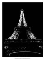 Tour Eiffel La Nuit Giclee