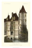 French Chateaux In Brick II Giclee