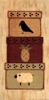 Crow, Pineapple Fine-Art Print